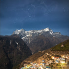 Постер, плакат: Orion above the Himalayas