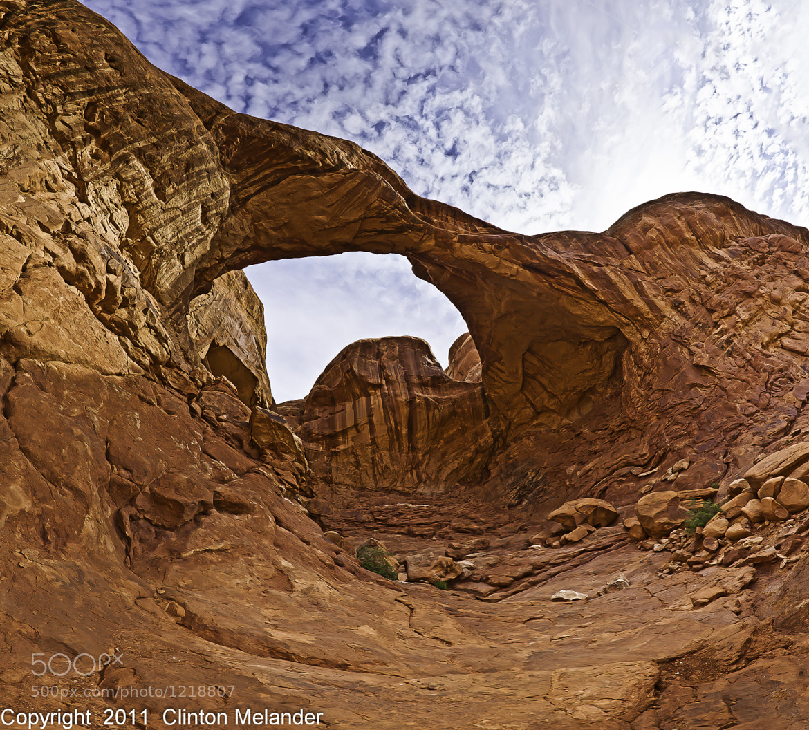 Photograph Double Arch Panoramic by Clinton Melander on 500px