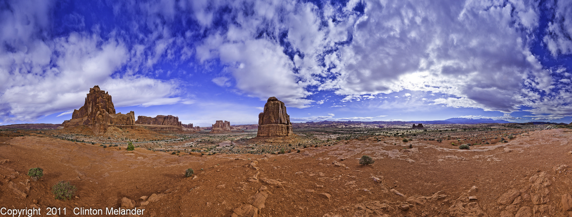 Photograph Arches National Park Panoramic by Clinton Melander on 500px