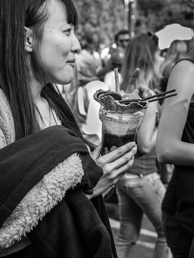 Photograph Chocolate Festival 2015, The Rocks Sydney by Travis Chau on 500px