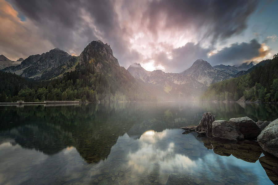 Mistic Lake by David Martín Castán on 500px.com