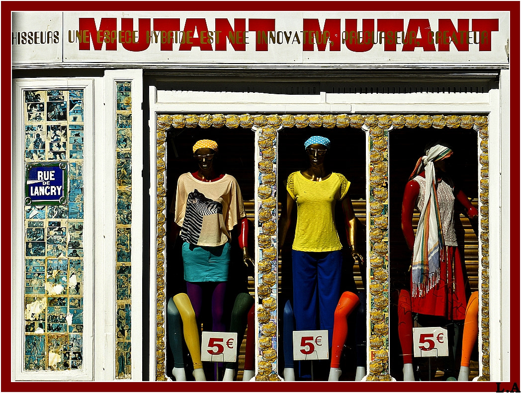 Photograph The art of the shop window by Loïc Auffray on 500px