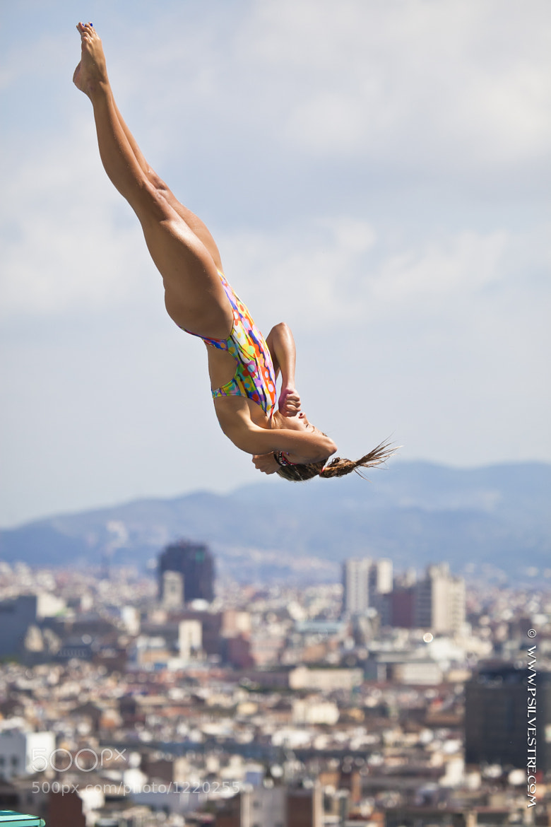 Photograph Flying over Barcelona by Pilar   Silvestre             *Moneypenny* on 500px