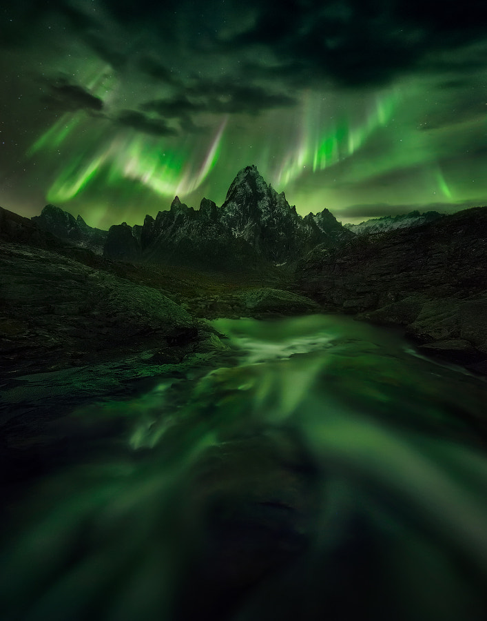 Photograph Temple of Night by Marc  Adamus on 500px