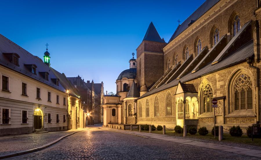 Streets of Wroclaw - Ostrow Tumski