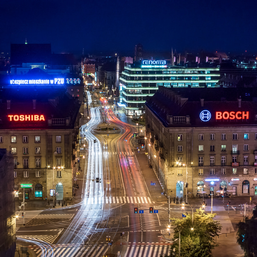 Swidnicka Street in Wroclaw