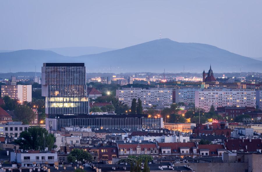 Wroclaw near hills
