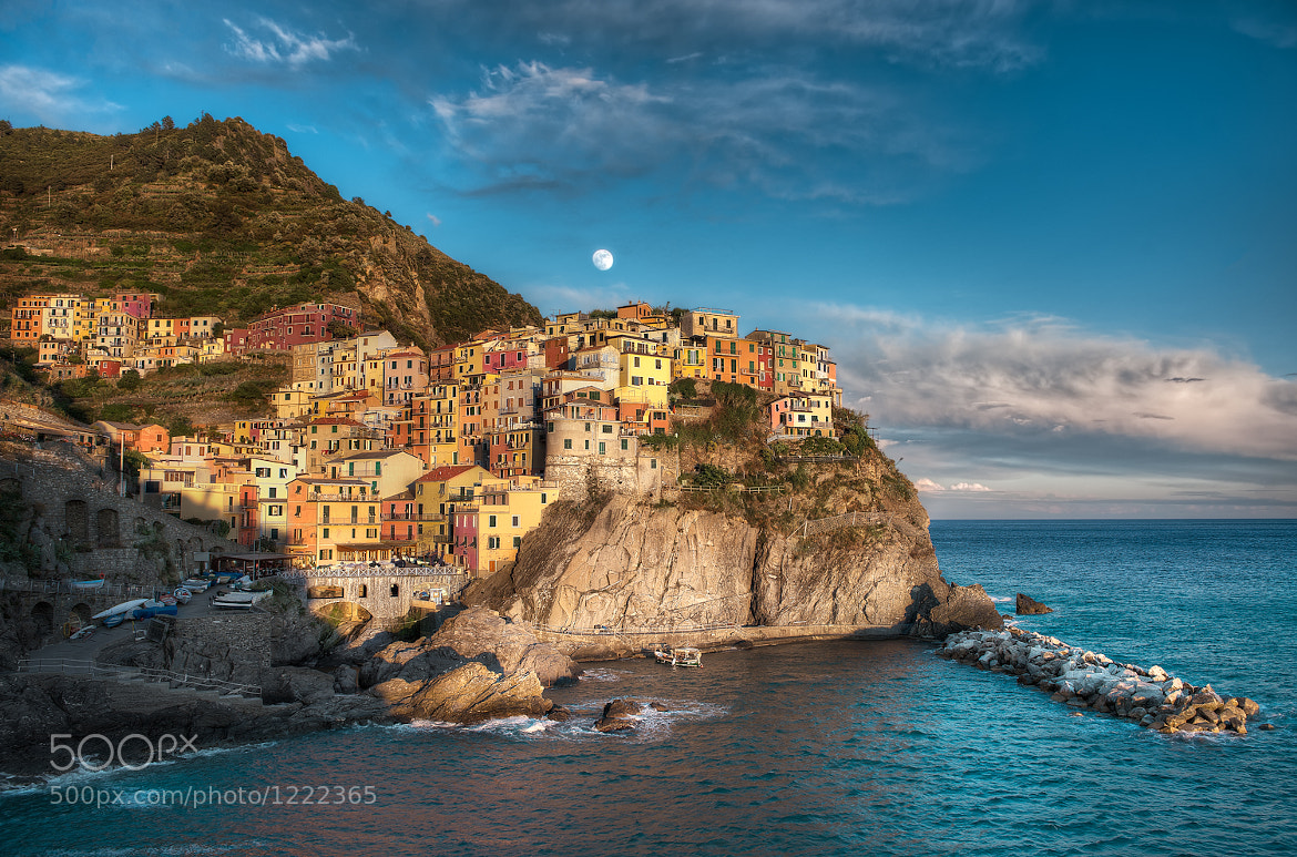 Photograph Manarola Moonrise - (Italy) by Elia Locardi on 500px