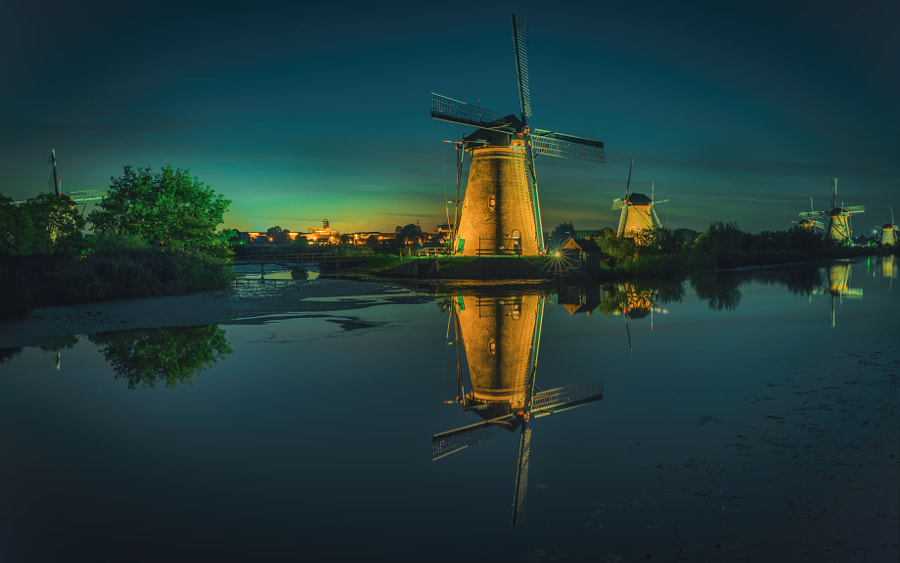 Photograph Kinderdijk, Holland. by Remo Scarfò on 500px