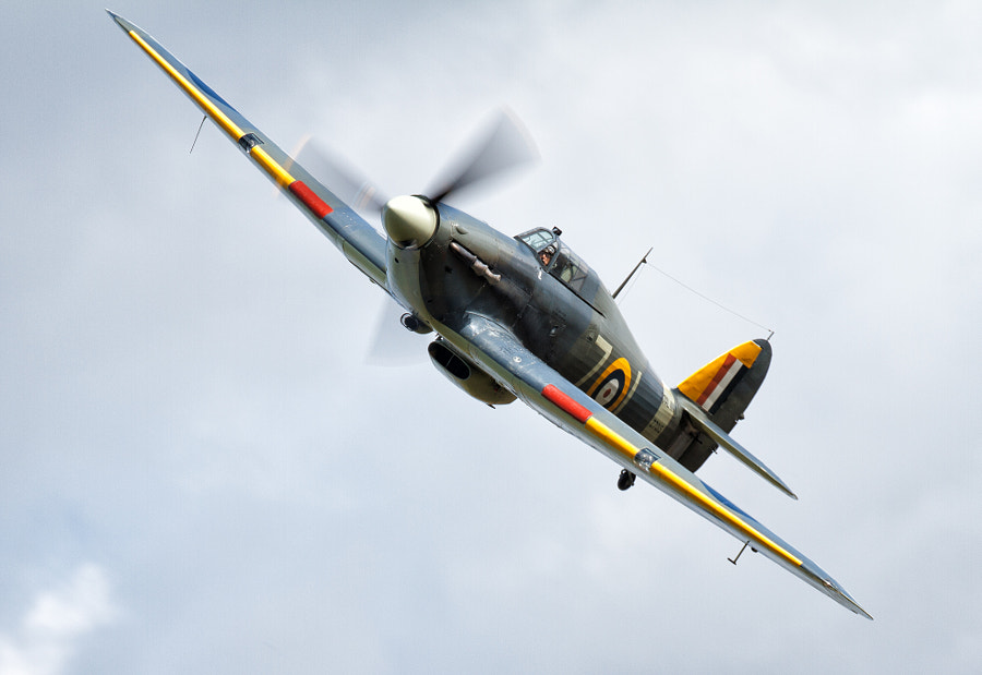 Hawker Hurricane at Duxford