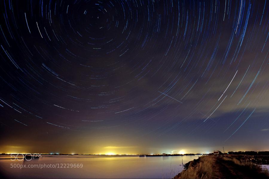 Photograph Startrails by José Rocha on 500px
