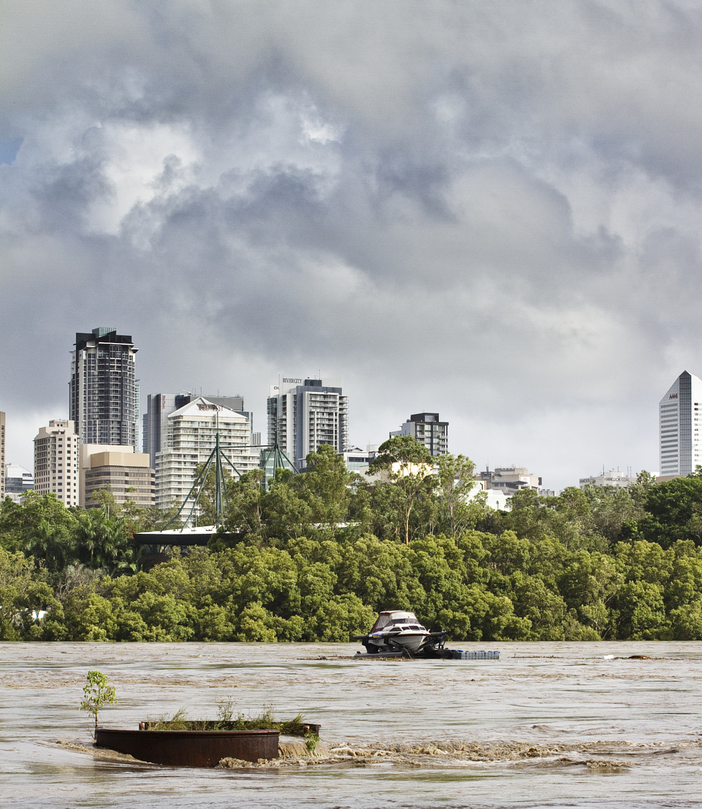 Photograph Disaster | Brisbane River in flood by Dan Glindemann on 500px