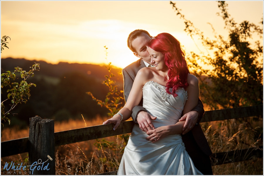 Photograph Sunset on a Wedding by Yvonne White on 500px