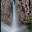 Yosemite Falls Moonbow by Aaron M
