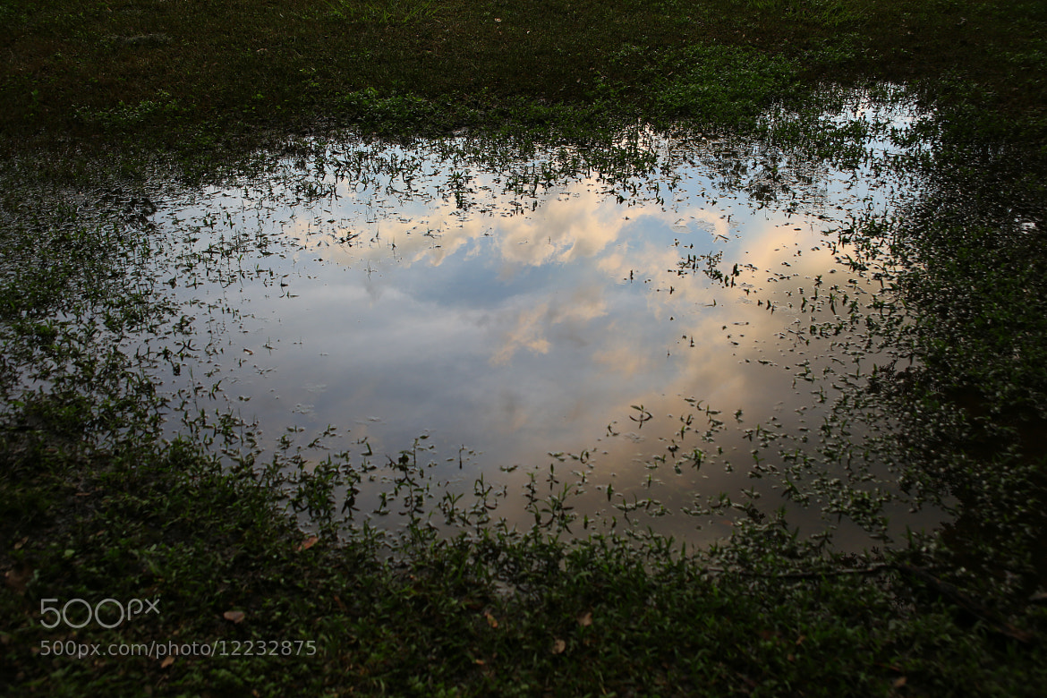 Photograph A Puddle Full of Sky by Steven Blackmon on 500px