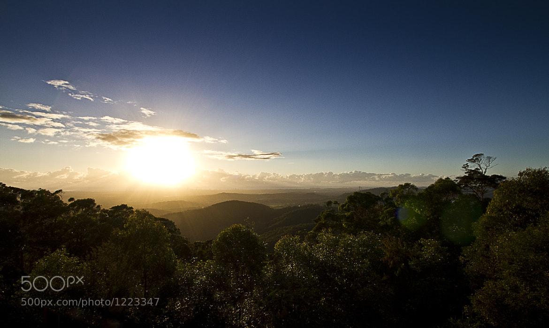 Photograph Sunrise   Hellfire Pass, Beechmont by Dan Glindemann on 500px