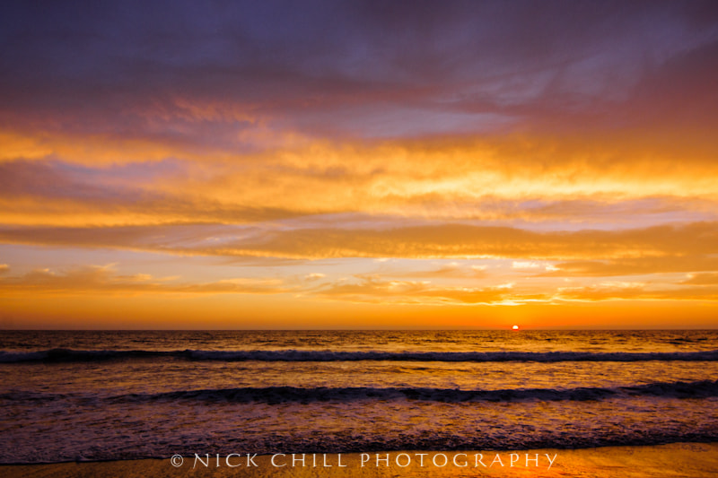 Photograph Fire in the Sky by Nick Chill on 500px