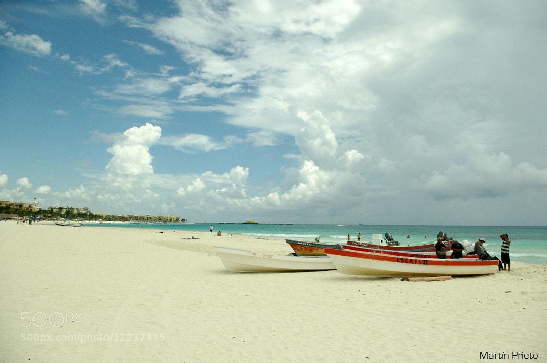 Photograph Barcas en el Caribe by Martín Prieto  on 500px