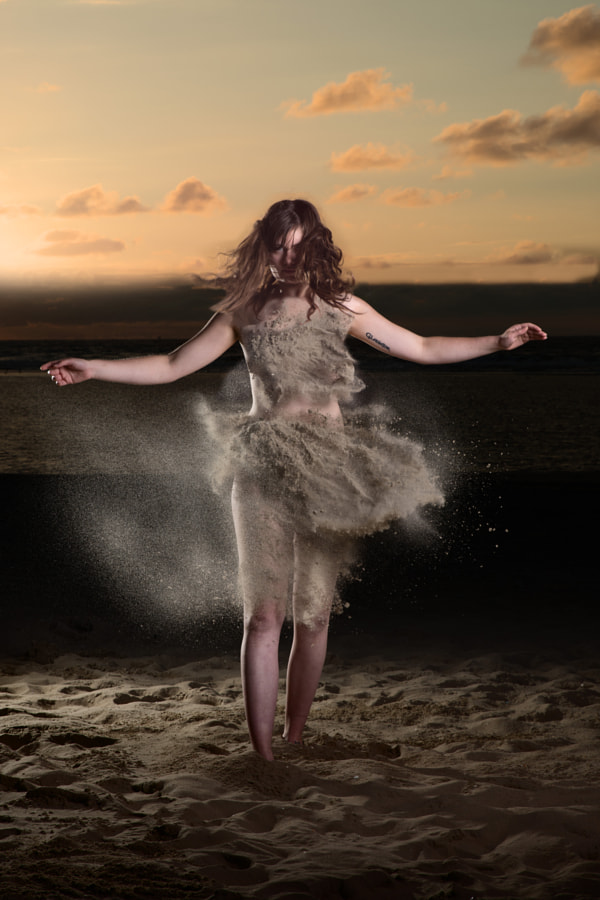 Dress of sand by UnTill Photography on 500px.com