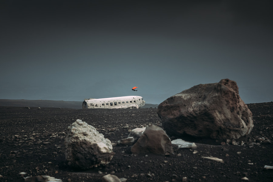 Chasing Airplanes in Iceland — 3/3 by Søren ° s1000 on 500px.com