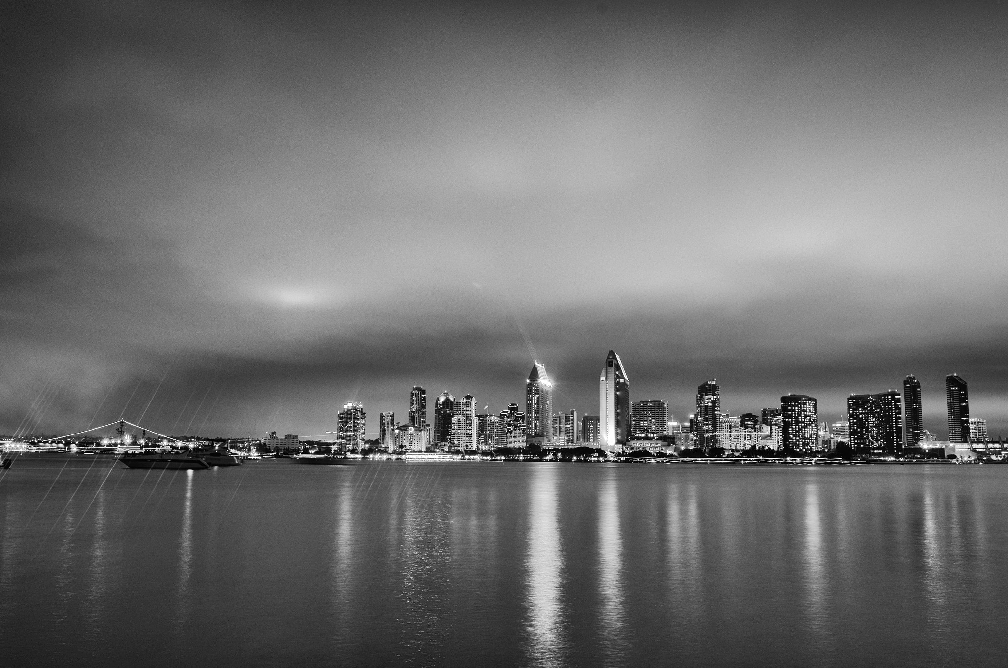 Photograph Monochrome Skyline by Andy Robinson on 500px