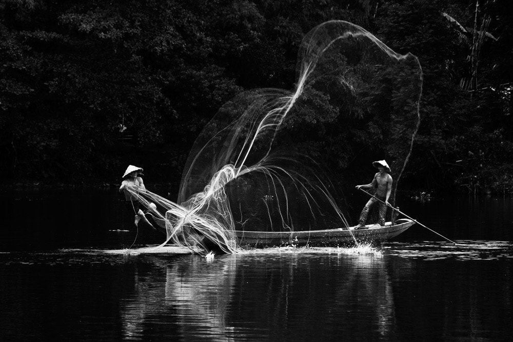 Photograph The fishermen by Hai Thinh on 500px