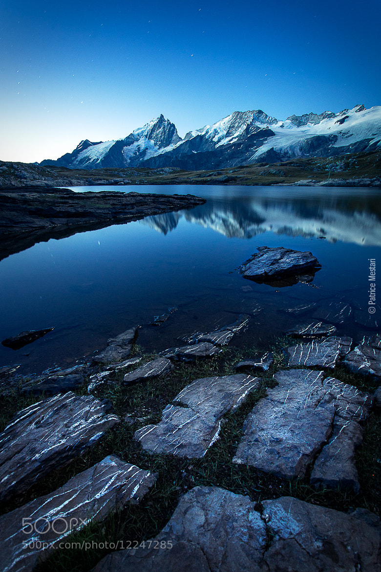 Photograph Le lac noir face à la Meije - Plateau d'Emparis by Patrice MESTARI on 500px