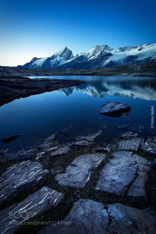 Photograph Le lac noir face à la Meije - Plateau d'Emparis by Patrice MESTARI on 500px