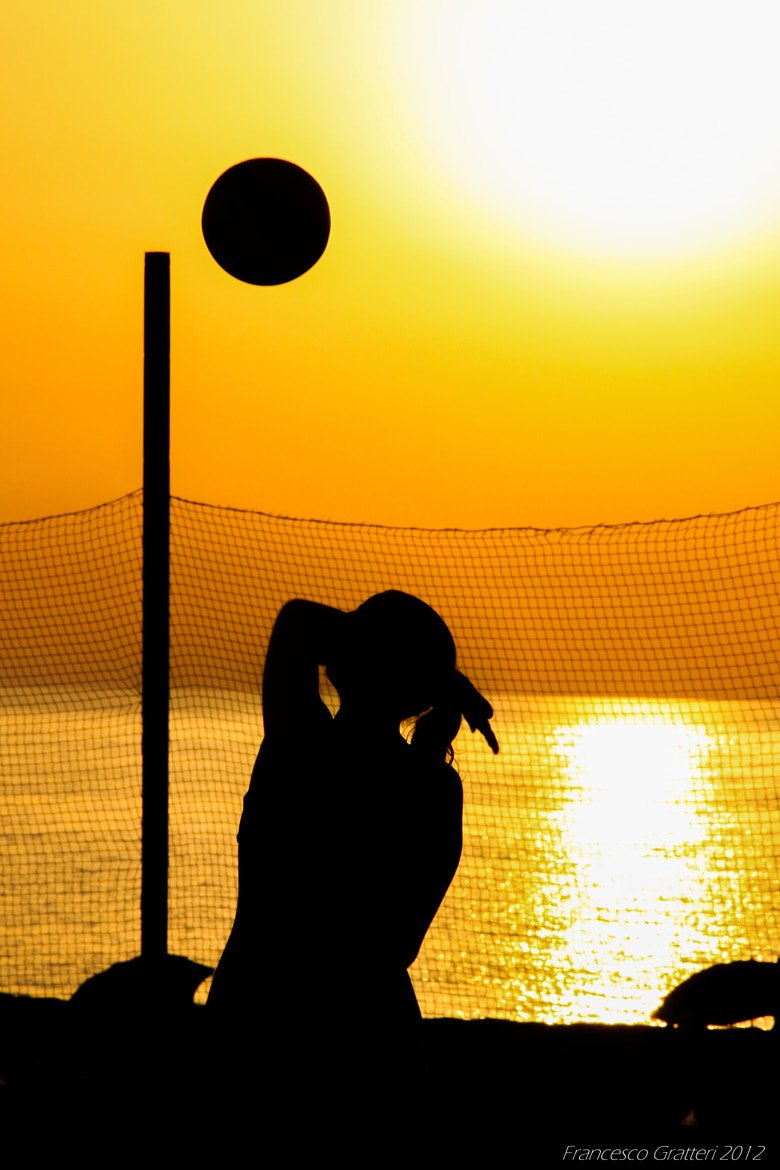 Photograph Beach volley by Francesco Gratteri on 500px