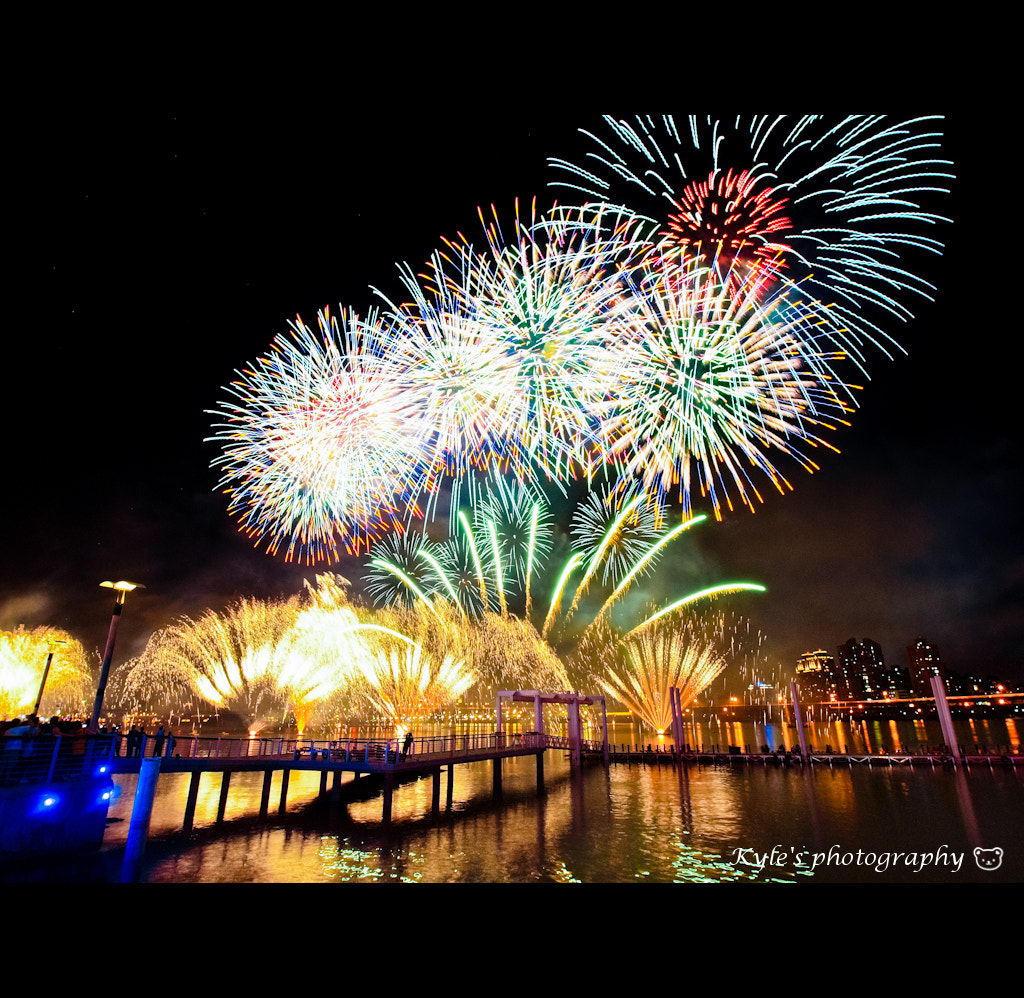 Photograph Firework by Kyle Lin on 500px