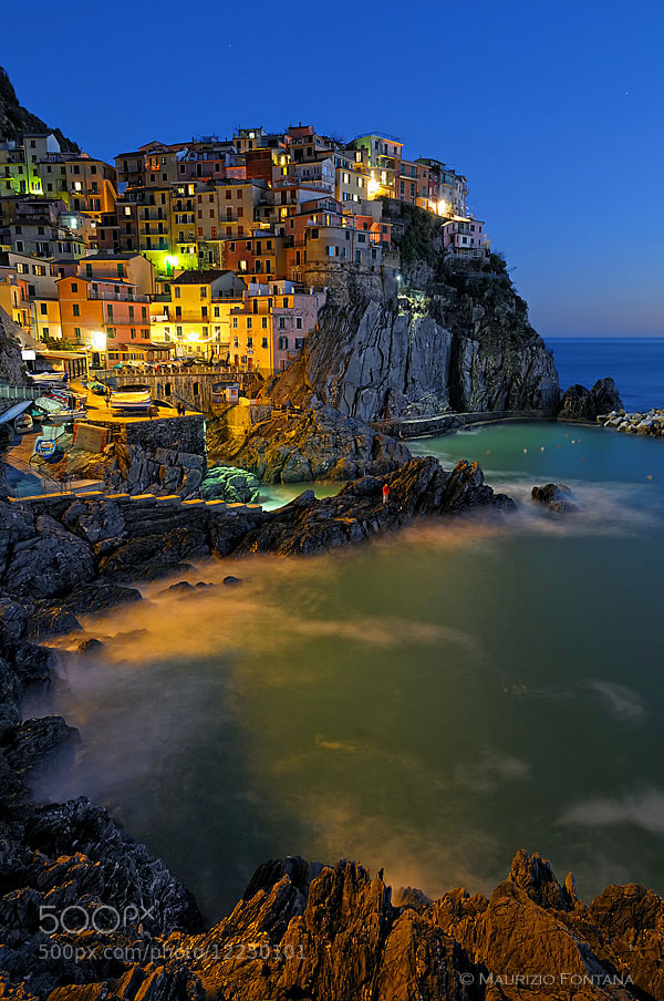 Photograph Manarola - Five Lands by Maurizio Fontana on 500px