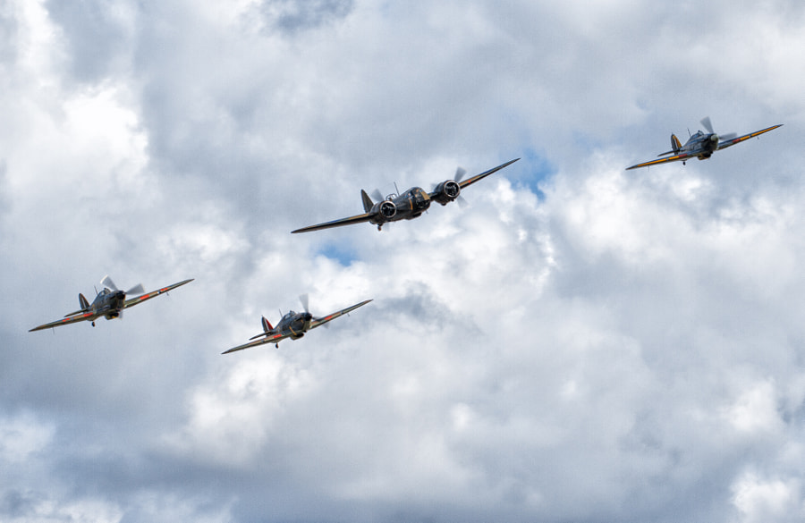 Hurricane Blenheim Formation