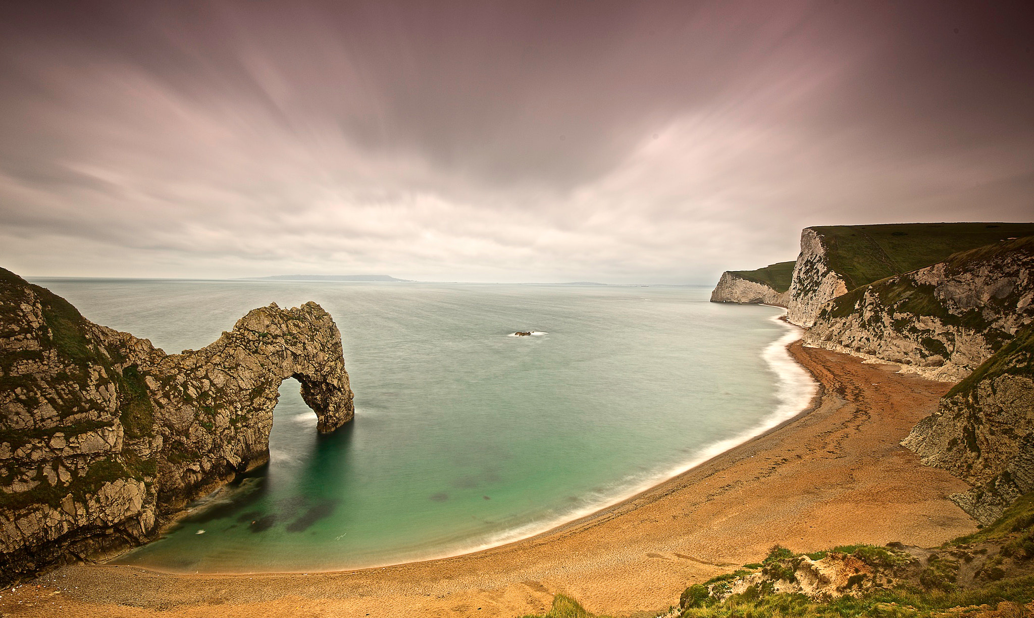 Photograph The Dorset Coast by donald Goldney on 500px