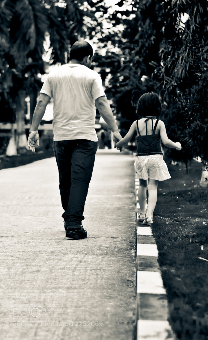 Photograph The world ahead is too dangerous...Thankfully i have my PAPA by my side... by Sayan Chakravarty on 500px
