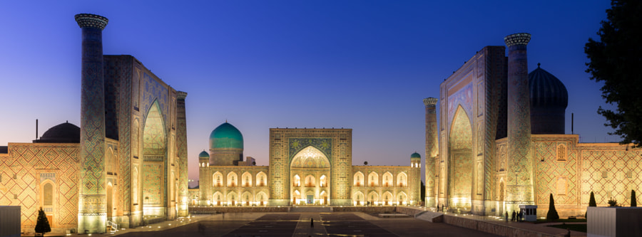 The Registan by Ian Coles on 500px.com