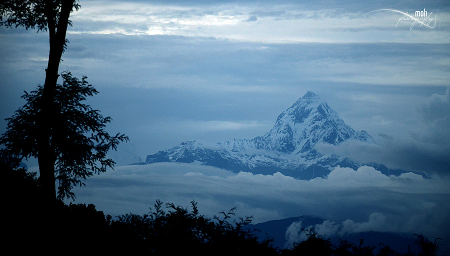 Photograph Mt. Fishtail, Nepal by Mohan Duwal on 500px