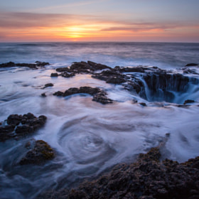 Sunset at Cape Perpetua by Eric Hines (EHinesNWI)) on 500px.com