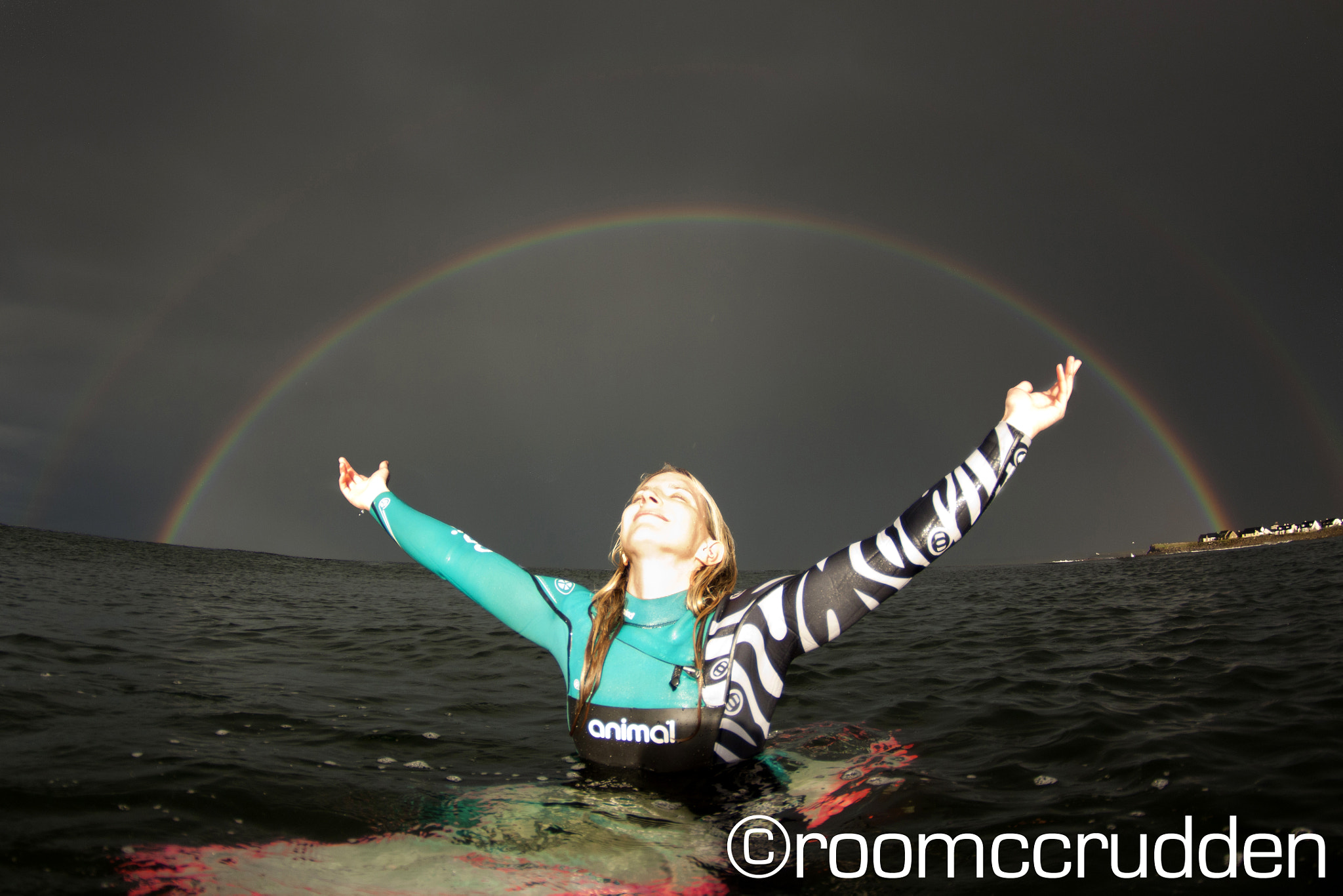 Photograph Easkey Britton - End of The Rainbows by Roo McCrudden on 500px