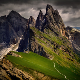 Sella Mountain by Francisco Trevisan (franciscotrevisan88)) on 500px.com