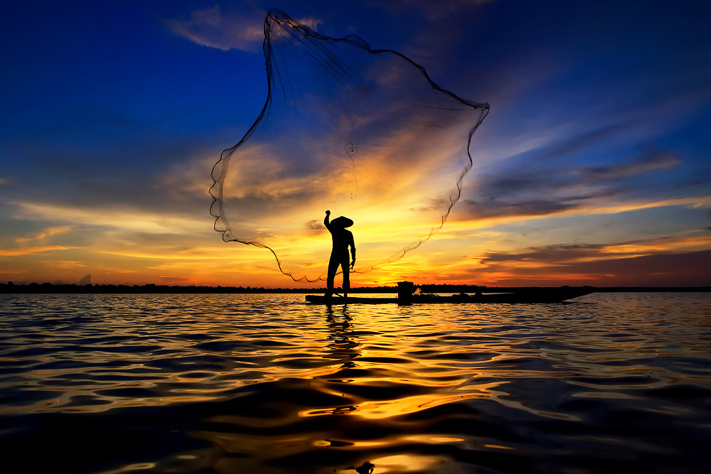 Photograph Fisher man by Saravut Whanset on 500px