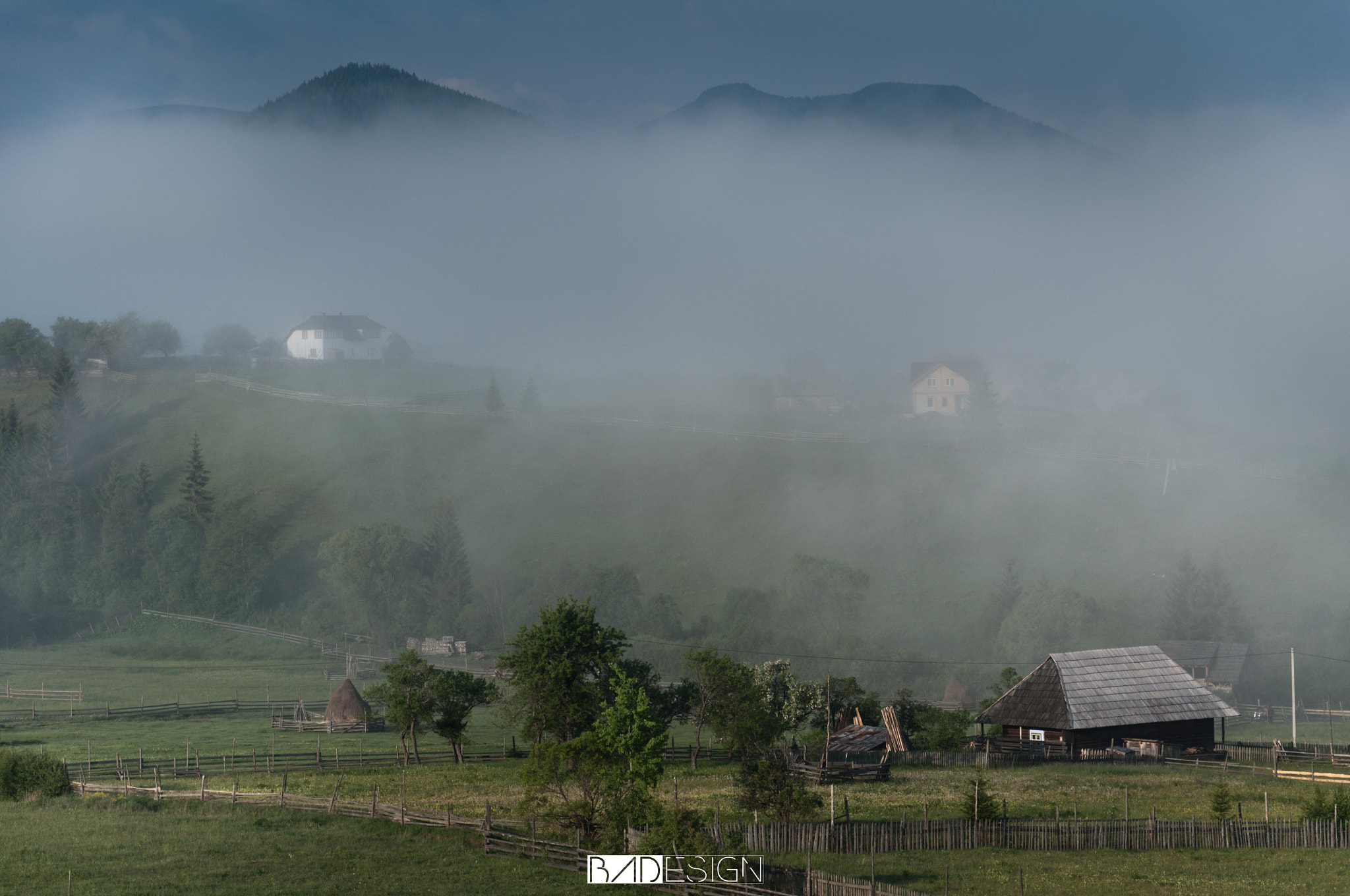 Photograph Misty morning by Bohatereț Andrei on 500px