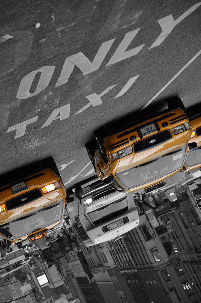 Photograph Only Taxi by Amélie Roy on 500px