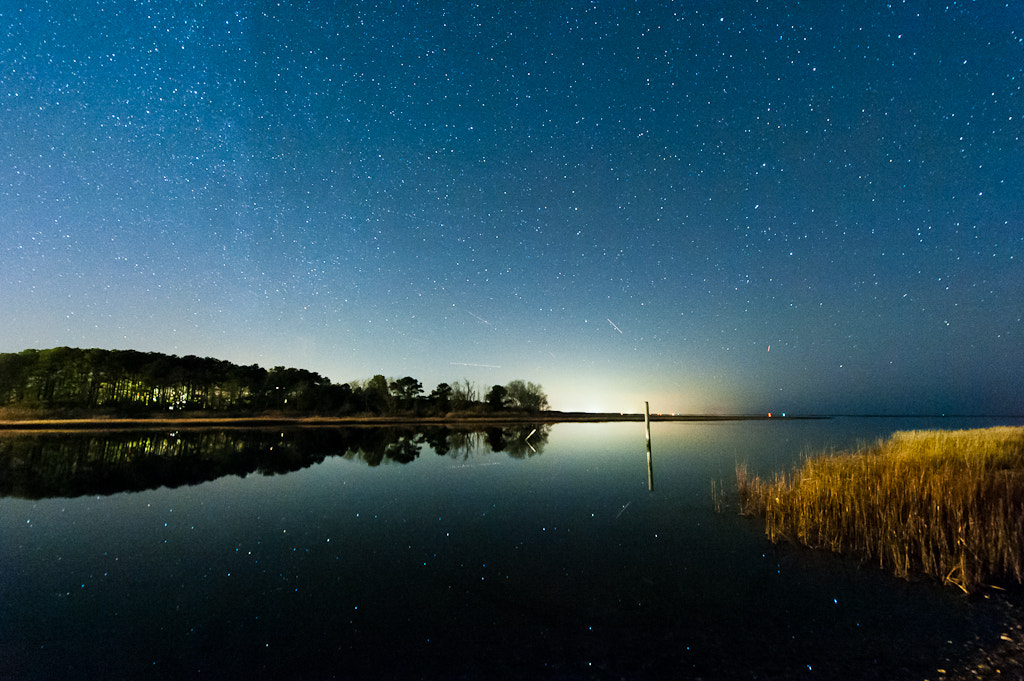 Photograph Stars at Oyster, VA by Jon Beard on 500px