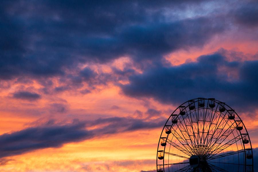 Vanilla Sky over Edinburgh