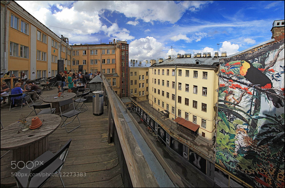 Photograph terrace of Location Hostel by Stepan Luschi on 500px