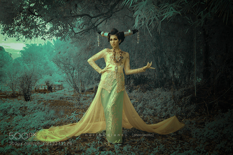 "Photograph ""Nessa in IR.."" by Heri Budianto on 500px"