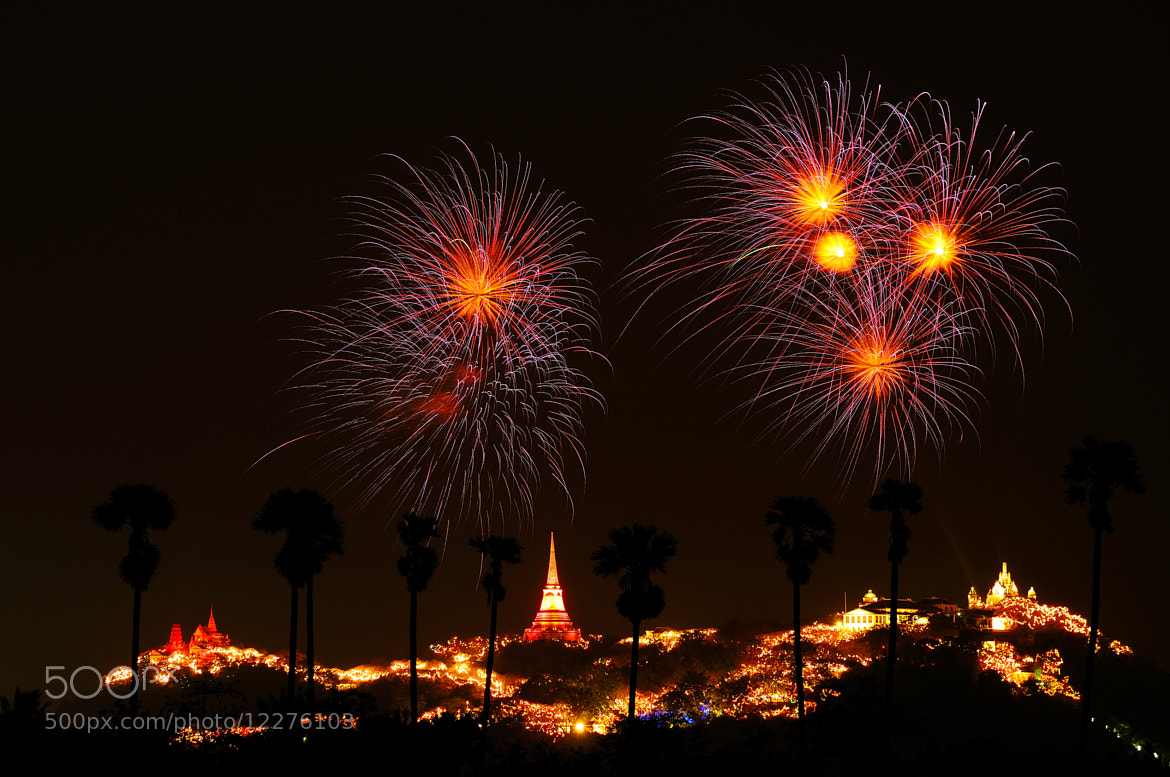Photograph Sugar Palm Firework ( 1st shot ) by Photos of Thailand .... on 500px