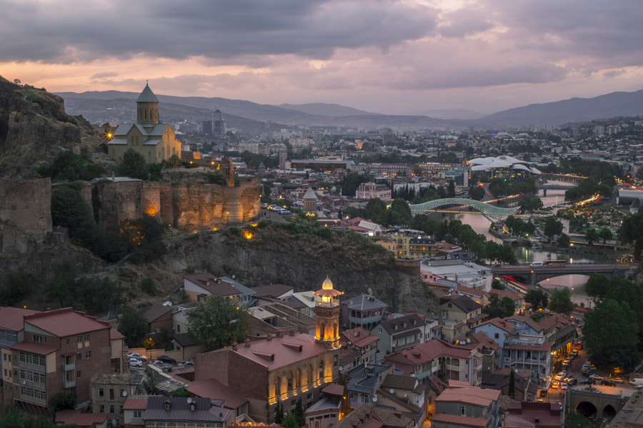 Tbilisi,Georgia by Zura Shamatava on 500px.com