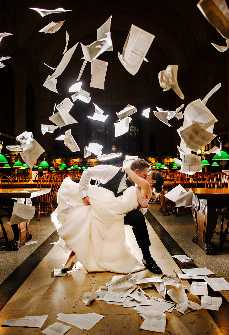 Photograph Tearing Up the Boston Public Library by Ryan Brenizer on 500px
