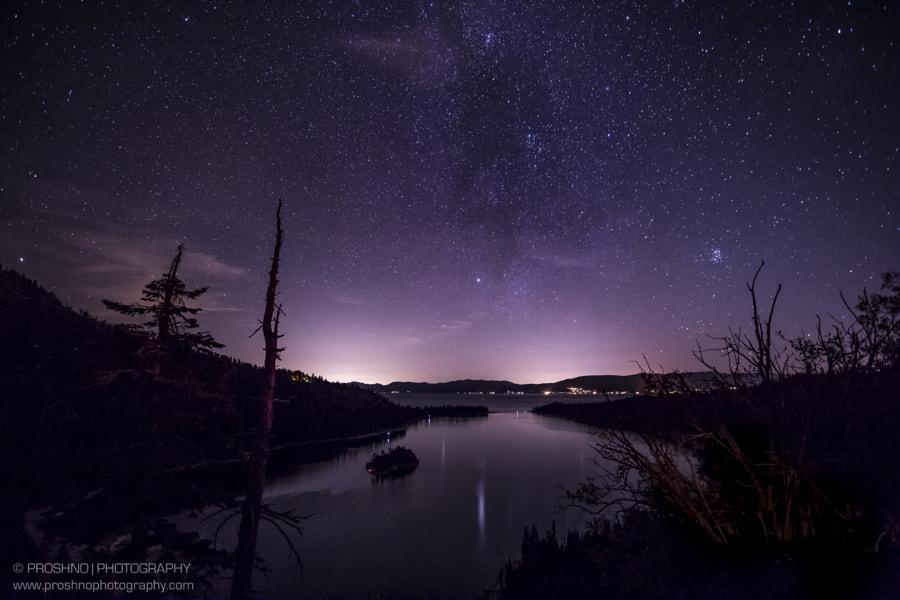 Night at Tahoe